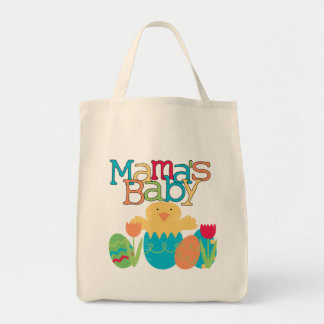 Mama's Baby - Boy Chick Easter T-shirts and Gifts Tote Bag