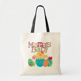Mama's Baby - Girl Chick Easter T-shirts and Gifts Budget Tote Bag