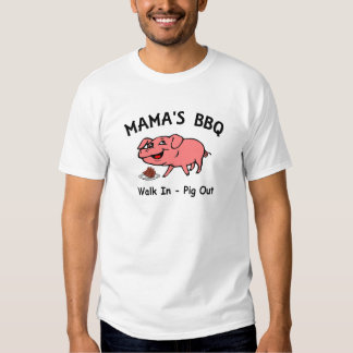 Mama's BBQ Tee Shirts