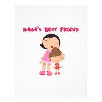 Mamas Best Friend Personalized Letterhead