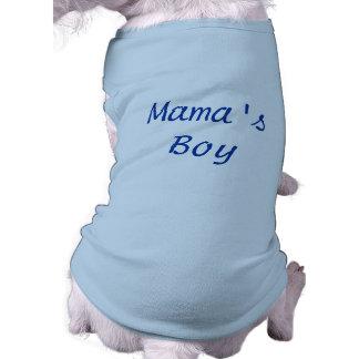 Mama's Boy Dog Tshirt