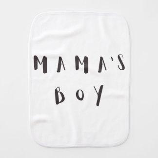Mama's Boy - Fun quote Burp Cloth