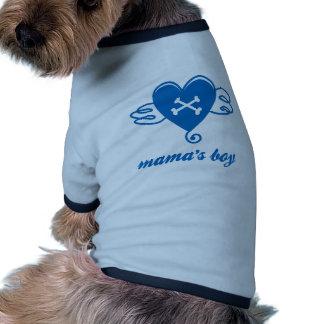 mama's boy pet clothing