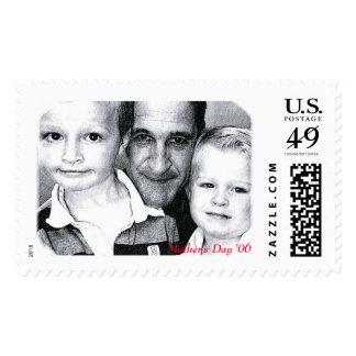 Mama's boys postage stamp