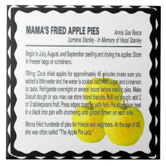 MAMA'S FRIED APPLE PIES CERAMIC TILE