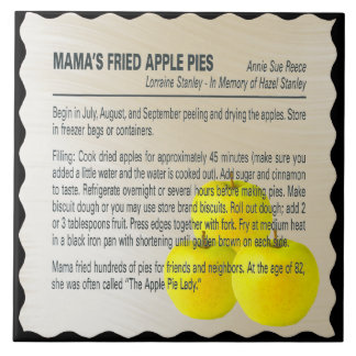 MAMA'S FRIED APPLE PIES TILE