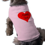 Mama's Girl Custom Personalized Pet Tshirt