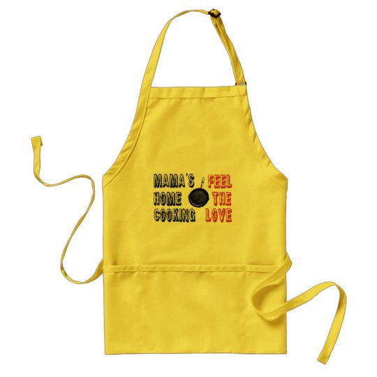 mama's home cooking adult apron