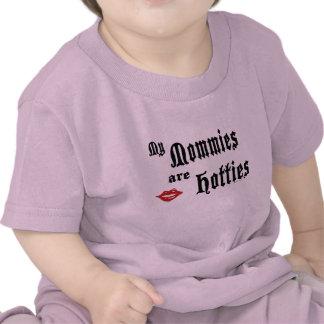 Mamás Hotties Camiseta