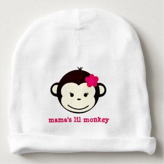 MAMA'S LIL MONKEY COTTON BABY BEANIE