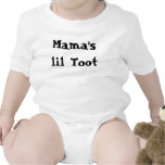 Mama's lil Toot Rompers