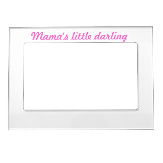 Mama's little darling magnetic photo frame