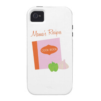 Mamas Recipes Case-Mate iPhone 4 Covers