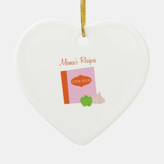 Mamas Recipes Christmas Ornaments