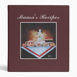 Mama's Recipes Vinyl Binders