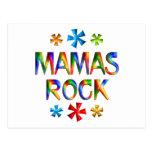 MAMAS ROCK POSTCARD