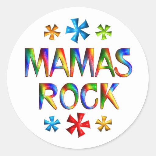 MAMAS ROCK STICKER