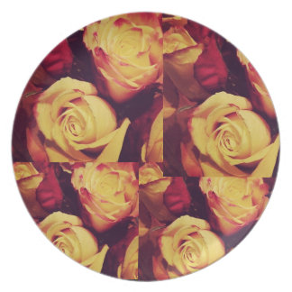 Mama's Roses Plate