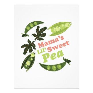 Mamas Sweet Pea Letterhead