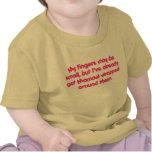 Mamaw envuelto (rosa) camiseta