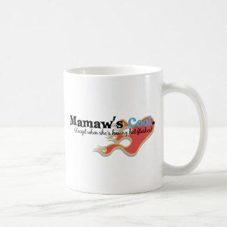 Mamaw has Hot Flashes Classic White Coffee Mug