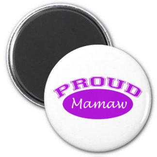 Mamaw orgulloso púrpura imanes