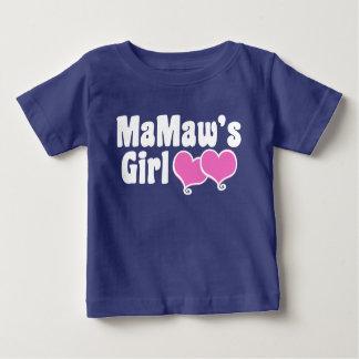 Mamaw's Girl Baby T-Shirt