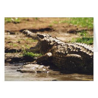 Mamba (Crocodile) Card