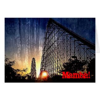 Mamba Rollercoaster World's of Fun Kansas City Card