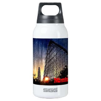 Mamba Rollercoaster World's of Fun Kansas City Insulated Water Bottle