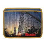 Mamba Rollercoaster World's of Fun Kansas City Sleeve For MacBook Air
