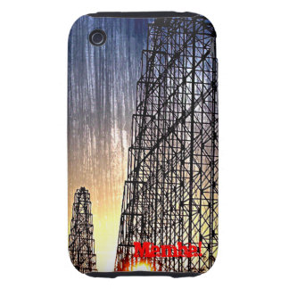 Mamba Rollercoaster World's of Fun Kansas City iPhone 3 Tough Cover