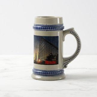 Mamba Rollercoaster World's of Fun Kansas City Coffee Mug