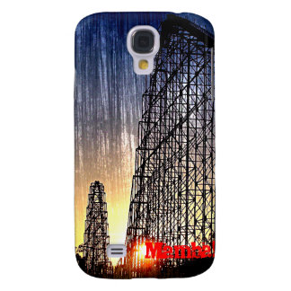 Mamba Rollercoaster World's of Fun Kansas City Samsung S4 Case