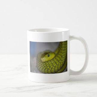 Mamba verde tazas
