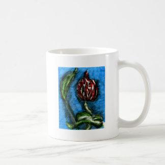 Mambo de la parte inferior del negro de la flor de taza de café
