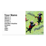 Mambo Labrador Musicians Painting Business Card Template