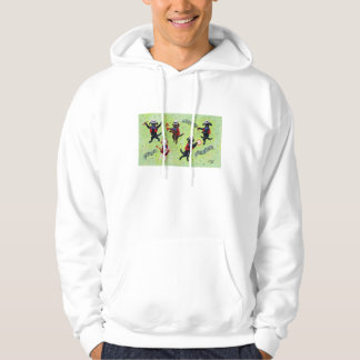 Mambo Labrador Musicians Painting Hoodie