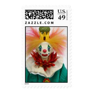 Mambo the Clown Stamp