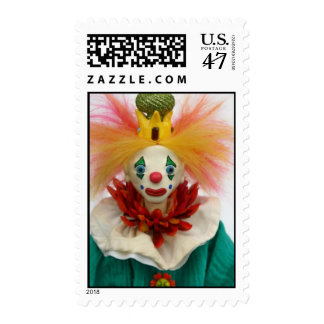 Mambo the Clown Postage Stamp