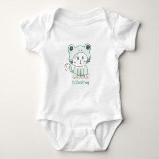 Mameluco de Kittenfrog para los bebés/los niños
