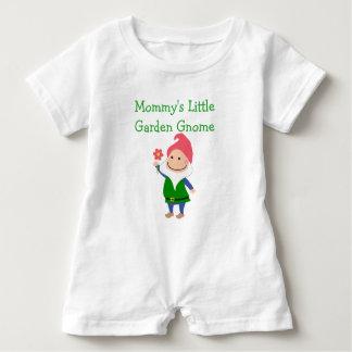 Mameluco del bebé del gnomo del jardín