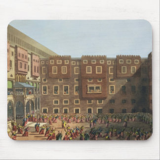 Mamelukes Exercising in the Square of Mourad Bey's Mouse Pad