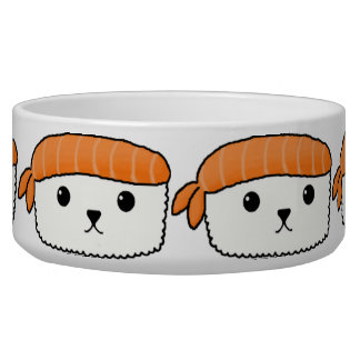 Mamesushi - Cute Sushi Dog Bowl