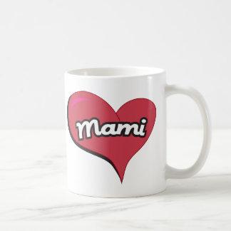 Mami Heart Classic White Coffee Mug