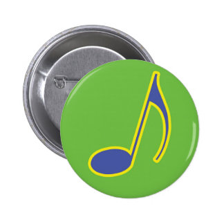 Mami Mozart Fun Music Gifts and Stationary 2 Inch Round Button