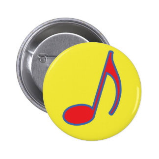 Mami Mozart Fun Music Gifts and Stationary Pinback Button