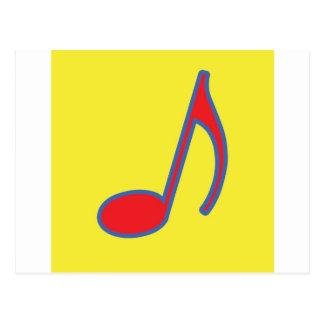 Mami Mozart Fun Music Gifts and Stationary Postcard