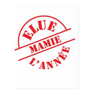 Mamie ! postcard