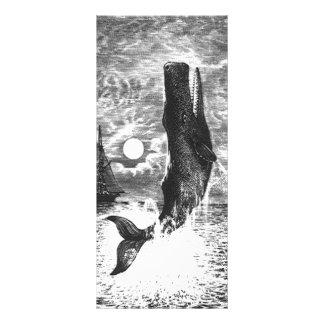 Mamífero de la vida marina del vintage, violación  tarjeta publicitaria personalizada